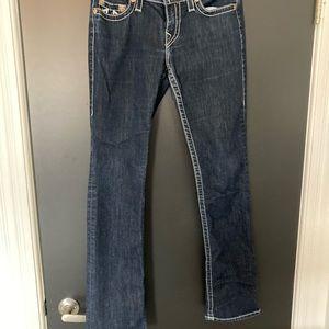 True Religion Straight Jeans, Size 30